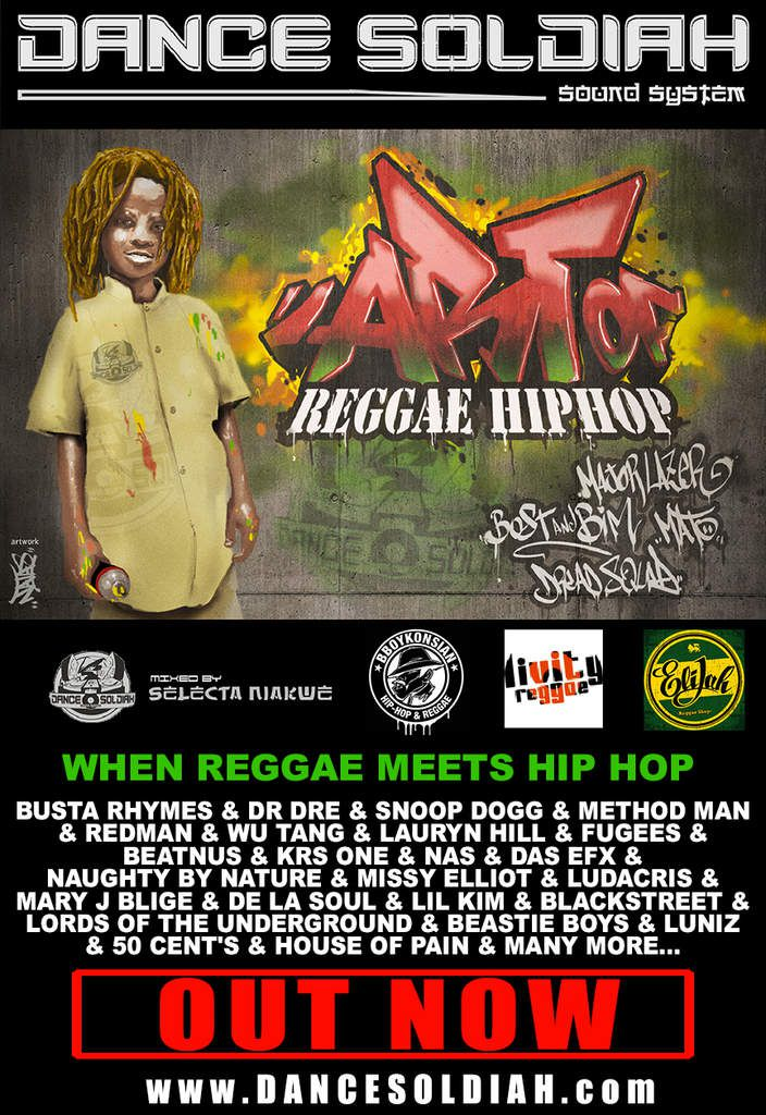 ART OF RAGGAE HIP HOP
