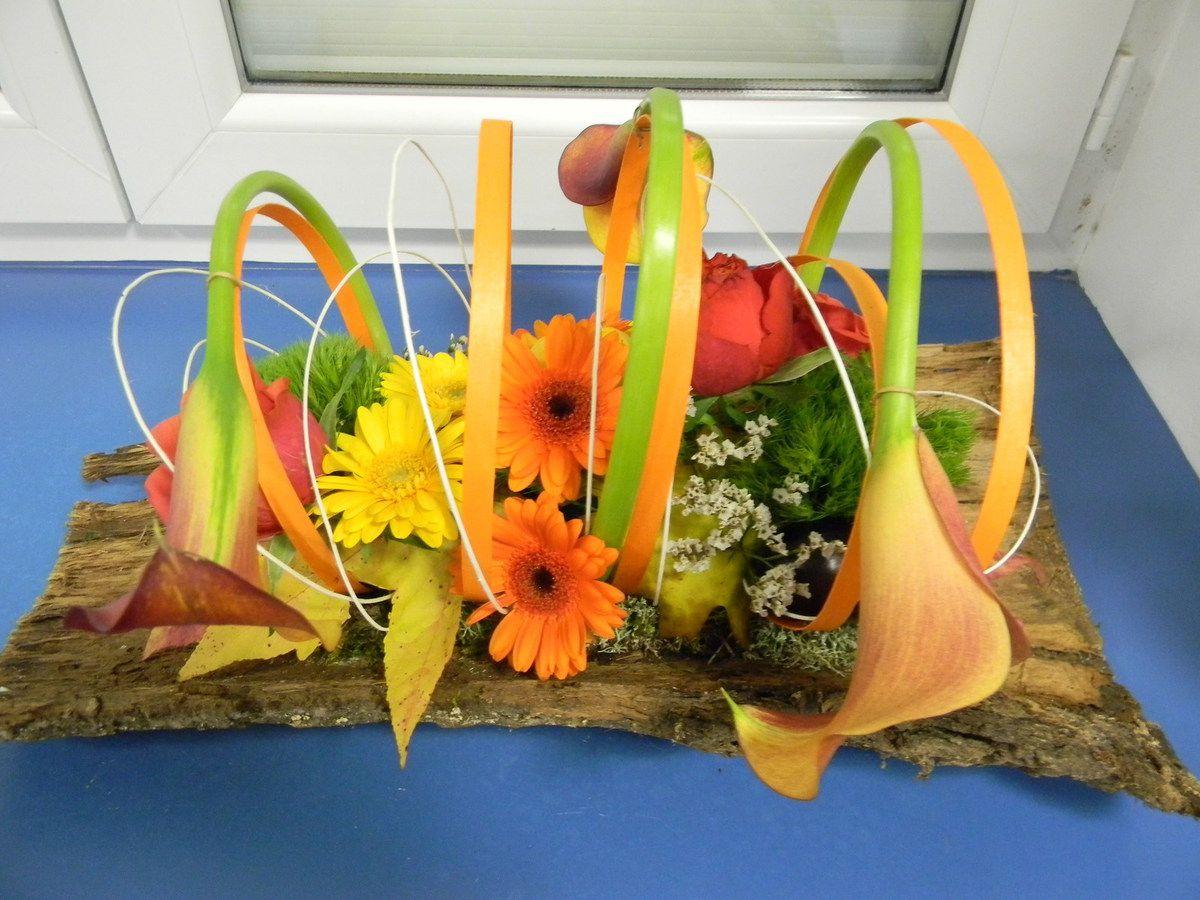 Je vous donne rdv le 15 décembre pour le bouquet rond prestigieux!! Pensez à travailler la vrille...