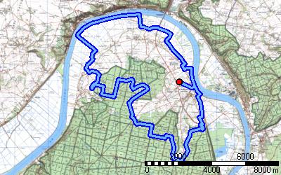 Circuit équestre n°3 Caux Seine Aglo Juillet 2020