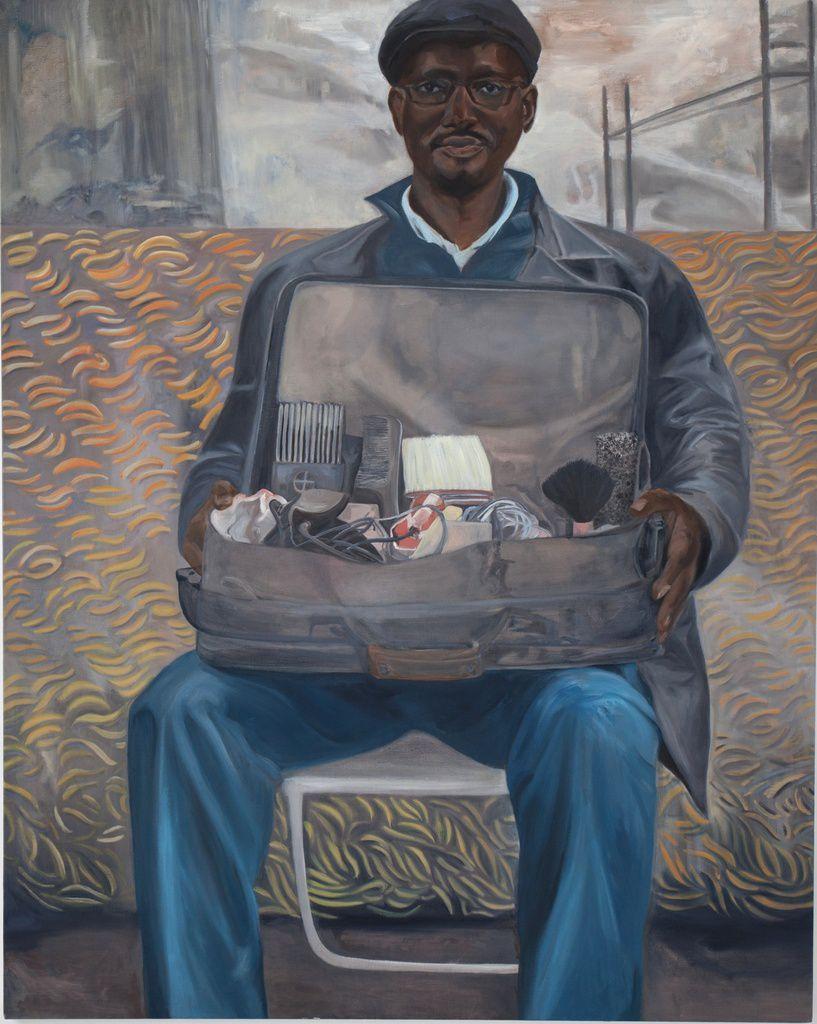 N'Diaye - 160 x 130 cm - huile sur toile - 2016