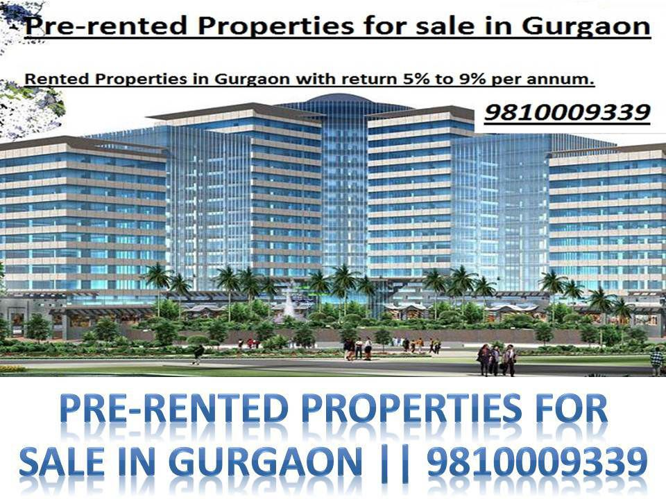 Rented Commercial Property Gurgaon || 9810009339