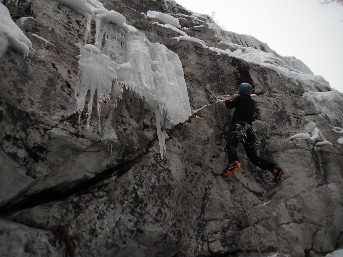 Cascade dans le Val d'Anniviers