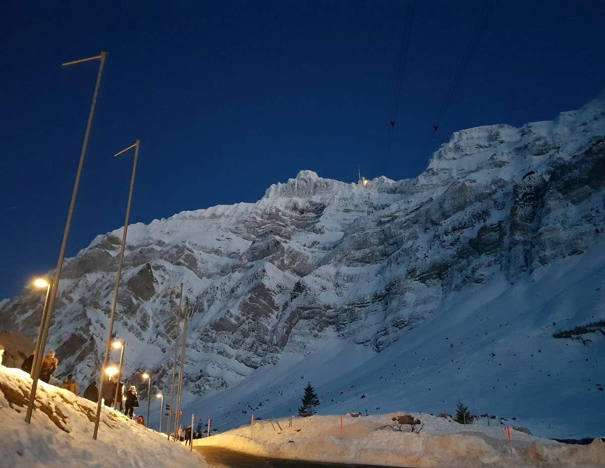 Die Eigernordwand der Alpstein
