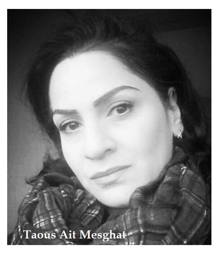 UNE GRANDE DAME : Taous Ait Mesghat, à Alger