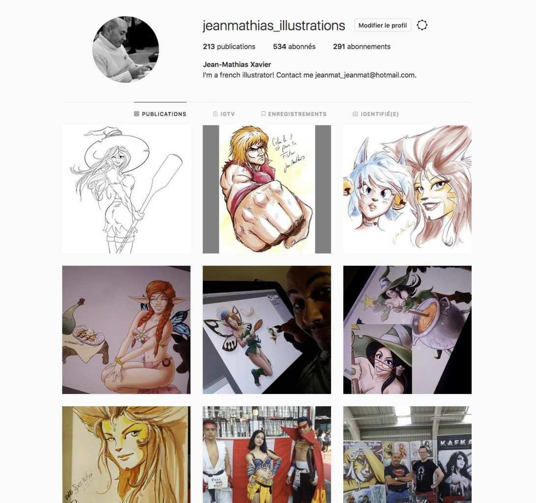 Vous pouvez me suivre aussi sur Instagram