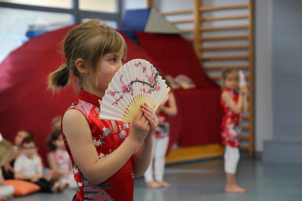 Danse et musique Asiatique