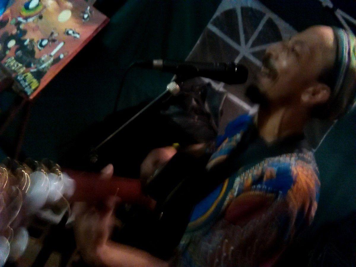 Reggae/peinture en concert privé avec Bouissi Roots