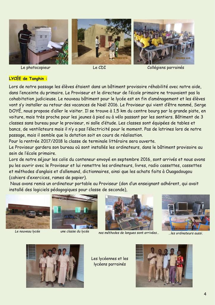 Petit journal - MAI 2017