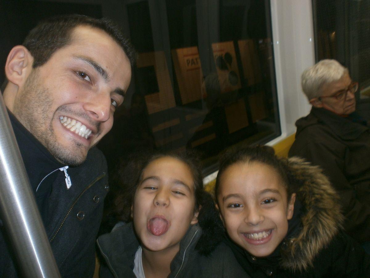 Toujours dans le métro
