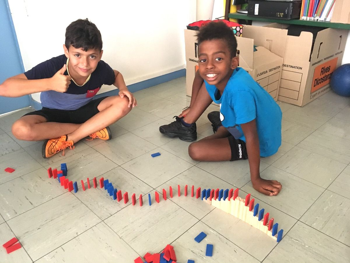 Parcours Domino.