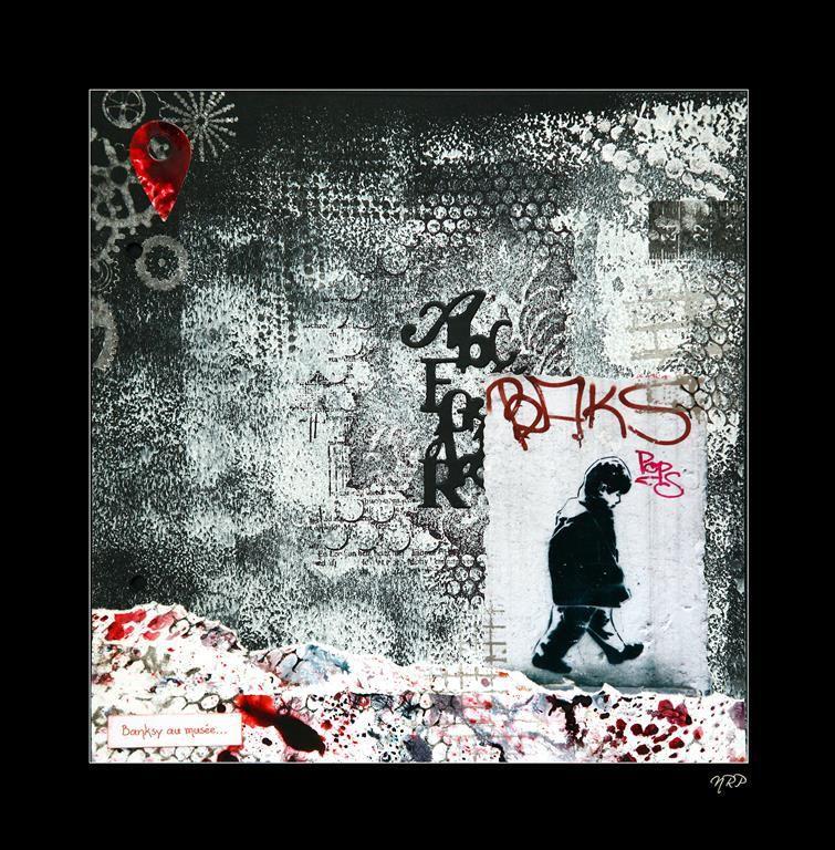 Tandis que Banksy entre au musée...