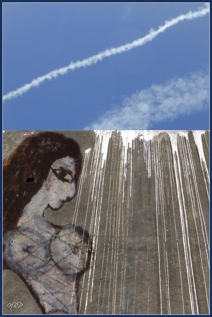 Quand Chagall..... fait le mur !