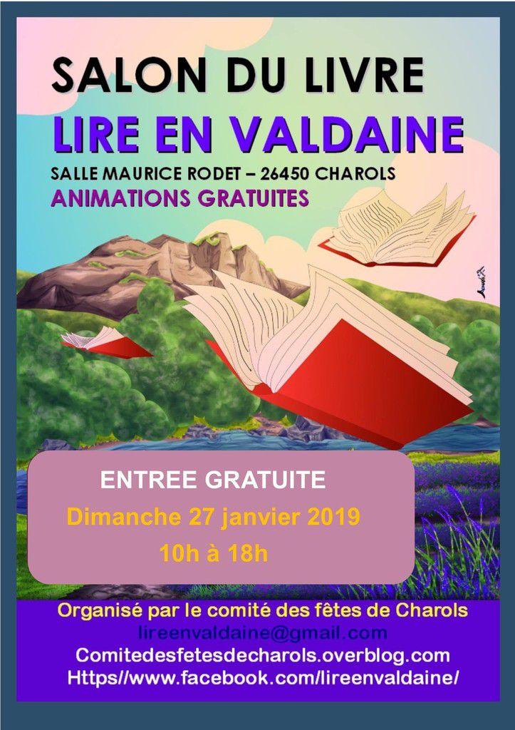 Notre Salon Du Livre Lire En Valdaine Le Dimanche 27 Janvier
