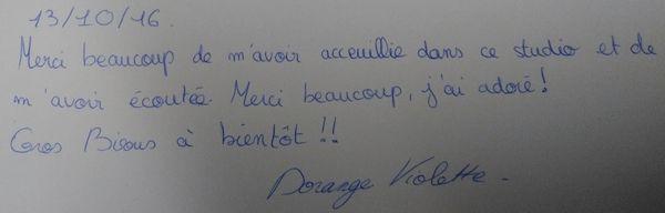 RE-ECOUTER L'EMISSION NOTRE TRANSAT avec Violette DORANGE n°165 du 13 octobre 2016