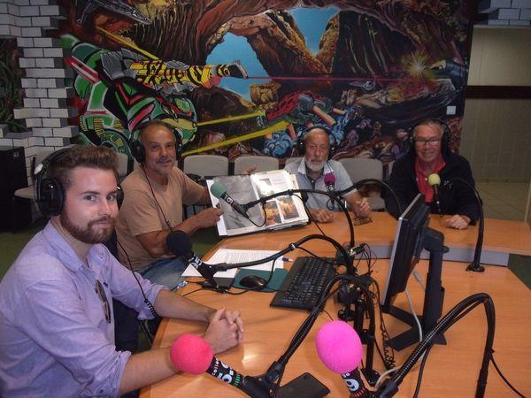 Philippe HERVE, Jacques BOISNARD et Arnaud GONTARD étaient les invités de la 201ème émission de radio Notre Transat