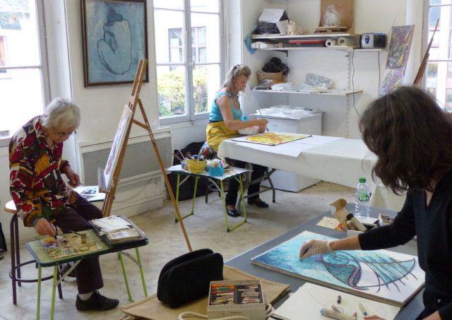 Atelier d'Art Contemporain du vendredi consacré cette semaine à la musique.