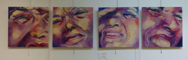 Portraits à la Médiathèque