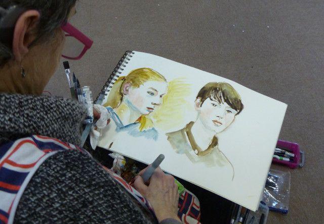 Atelier portrait samedi à la médiathèque