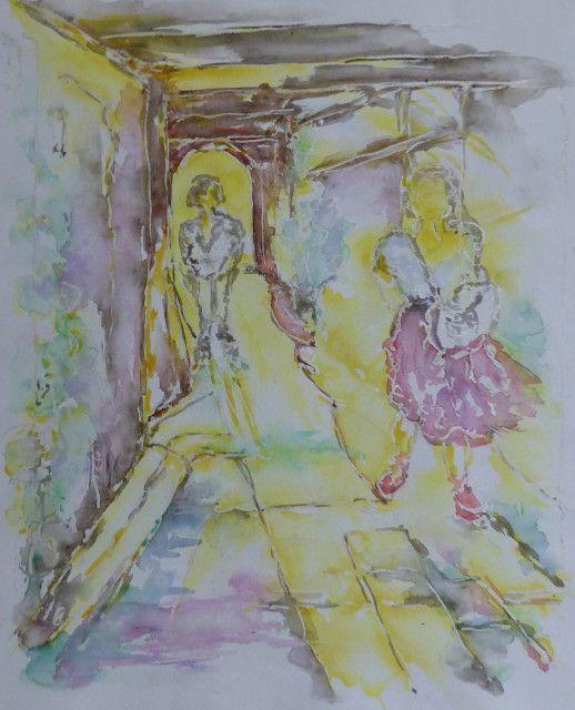 Atelier libre du vendredi 10 mars, sur le thème ''le passage''...