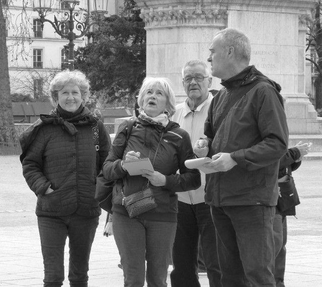 Deux jours de visites à Paris avec nos amies de la Drôme!