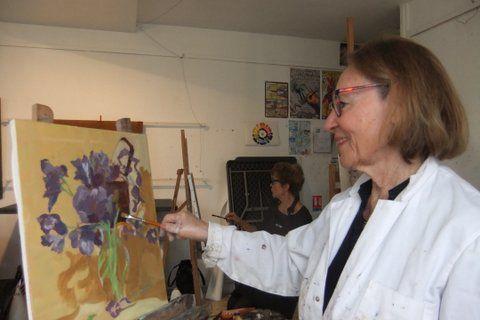 """Cours de Thierry du vendredi 28 avril,  """" la saison des iris"""""""