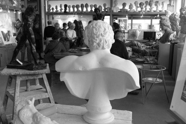Sortie dans l' atelier des moulages du Louvre!