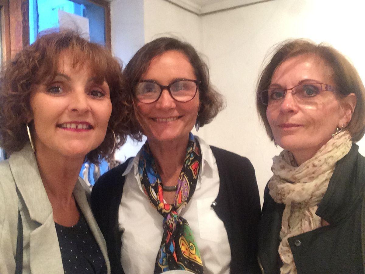 Vernissage de l'exposition de Claire Assemat et Olivier Bonnin au 179 rue de Paris à la galerie Algorithmes!