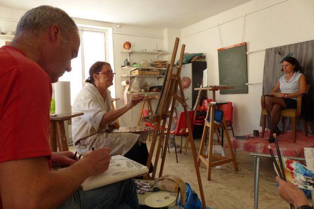 Atelier portrait du vendredi
