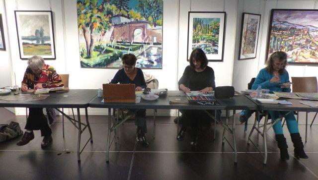 Salon 2017: On dessine au salon!!