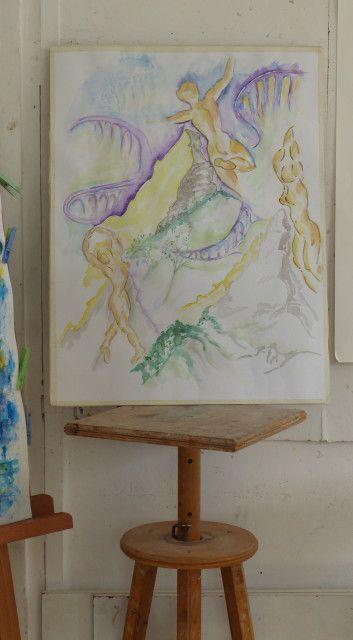 Atelier du vendredi matin: Icare et (ou) l'expressionnisme allemand