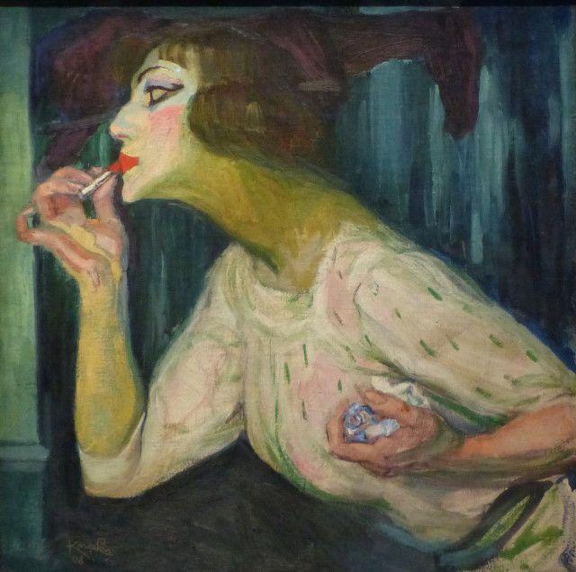Exposition consacrée à Kupka, actuellement et jusqu'au 30 juillet au Grand Palais.