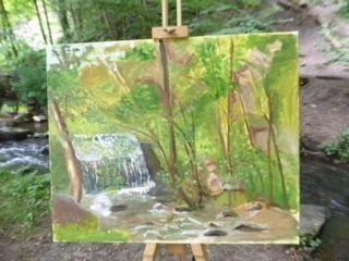 Sortie dans les bois de Cernay