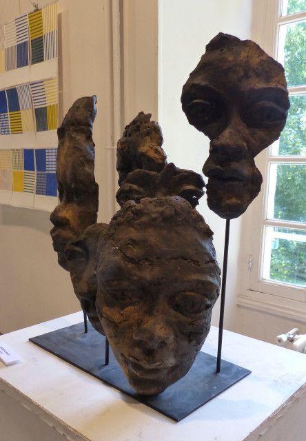 Belle exposition qui se tient actuellement  et jusqu'au 13 juin, à Orsay.  C'est ouvert de 14h à 18h, tous les jours, , à la Bouvèche.
