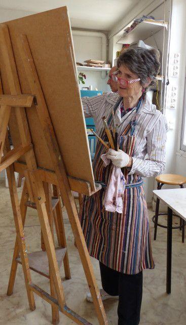 Atelier portrait du mercredi 13 juin.