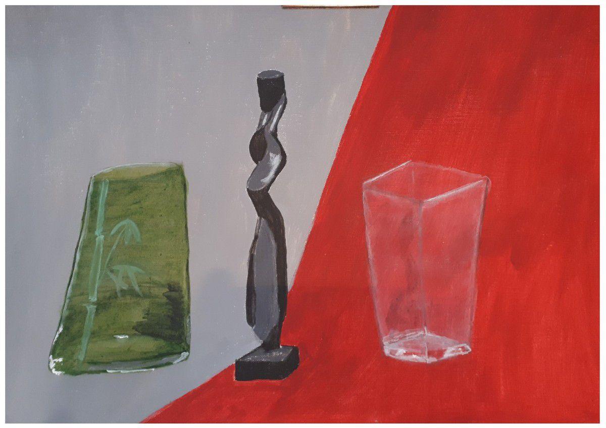 Cours acrylique de Fabienne