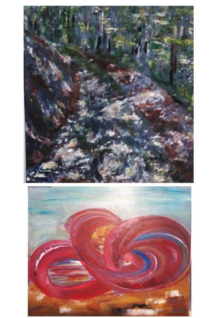 Cours de peinture acrylique du jeudi et du vendredi