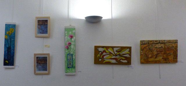 Vernissage de l'exposition conjointe à Igny