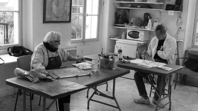 Atelier créativité, art rupeste et art contemporain