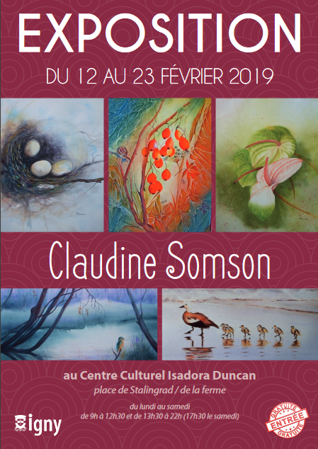 Exposition Claudine Somson