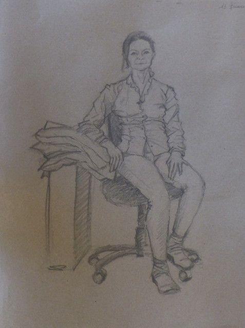 Atelier portrait avec Catherine