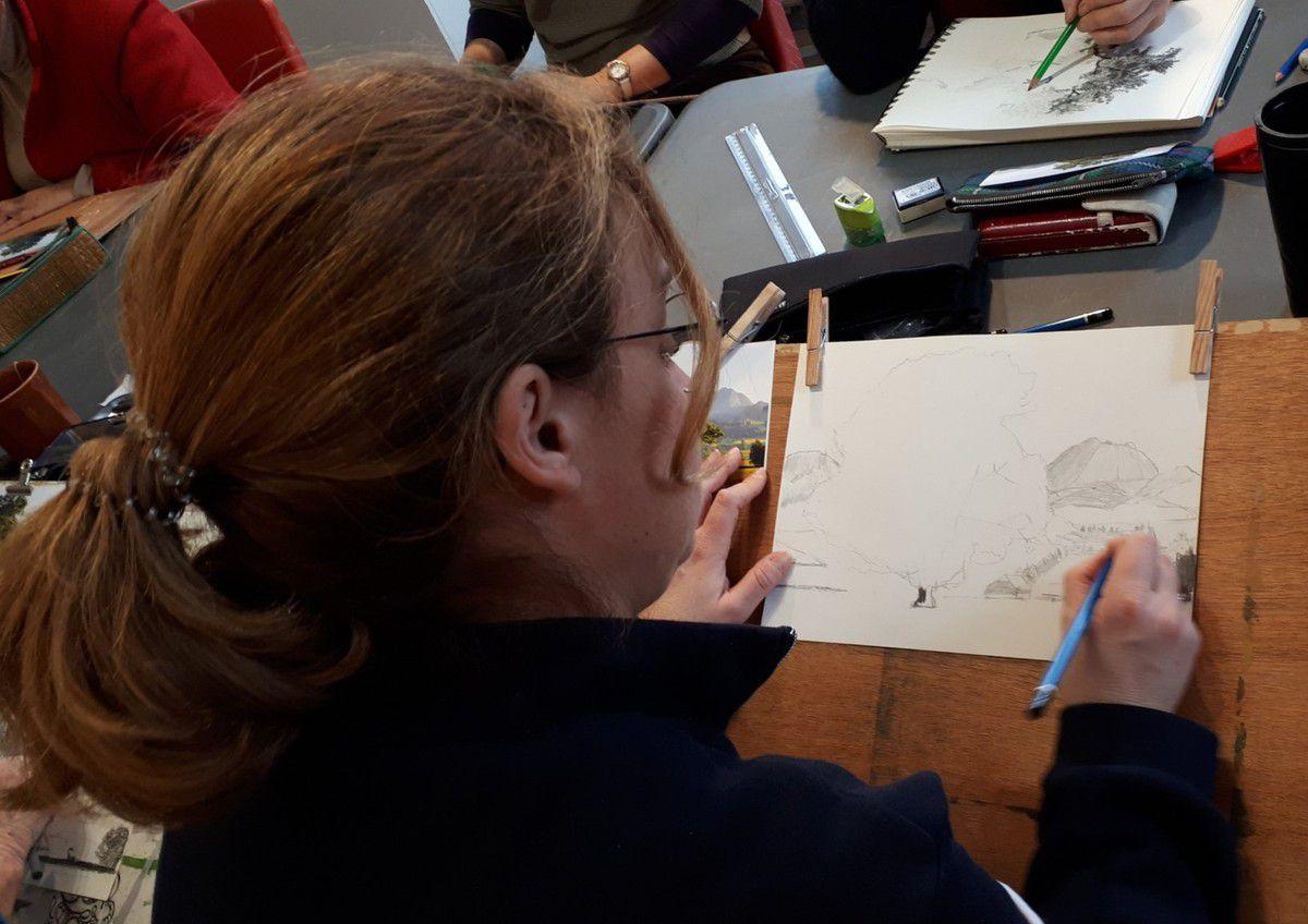 Cours de bases de dessin des 6 et 13 février