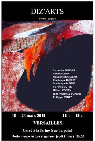 Exposition peintures et sculpture à Versailles