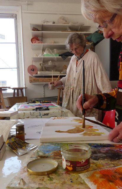 Atelier Créativité - Les grands aplats de couleur pure