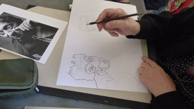 Atelier dessin - Masse et modelé