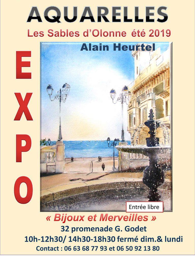 Exposition d'Alain Heurtel aux Sables d'Olonne