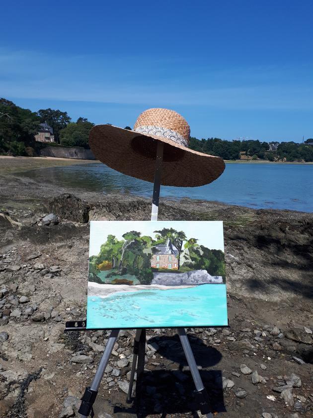 Stage intensif de peinture sur le motif en Bretagne !