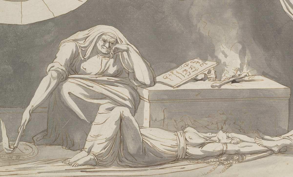 """Exposition de dessin : """"L'Allemagne romantique"""""""