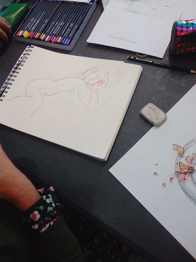 Une introduction à l'art moderne à l'atelier dessin