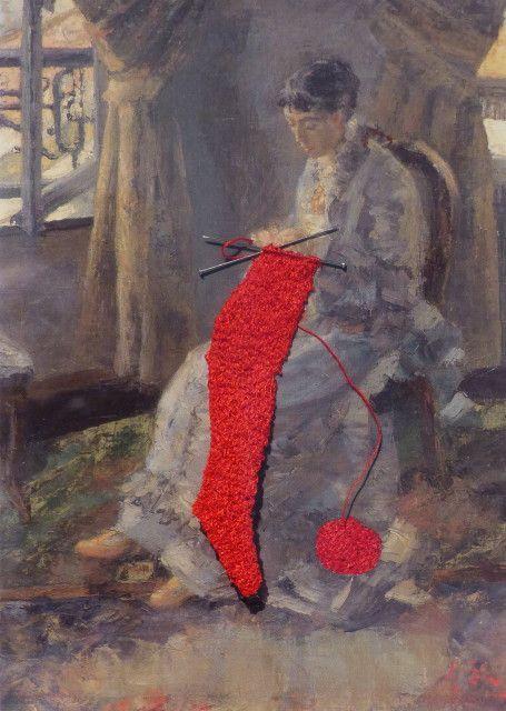 Fanny Viollet à la Maison des arts de Châtillon