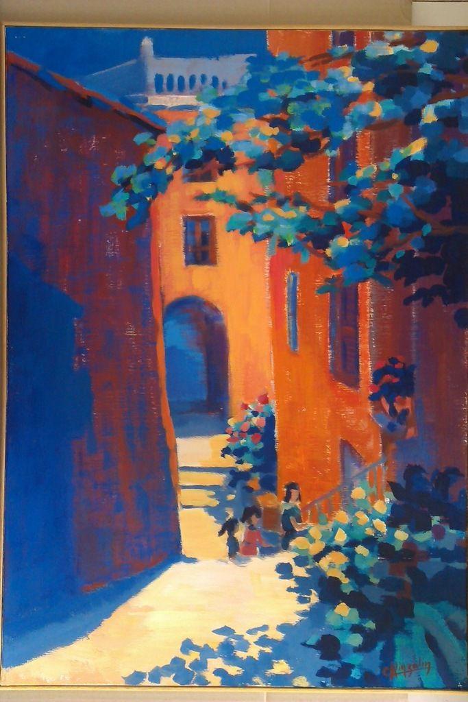 Cours de peinture à l'huile avec Christine KINZELIN